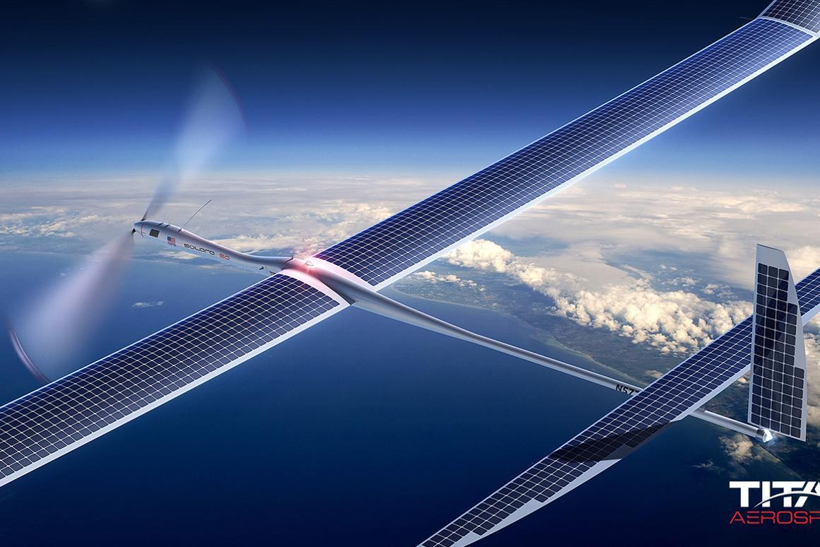 Titan Aerospace's Solara in flight