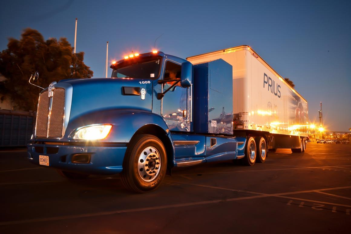 Hydrogen produced at the new facility will be used to fuel the Toyota Project Portal heavy-duty hydrogen fuel cell Class 8 trucks at its Long Beach Port facility