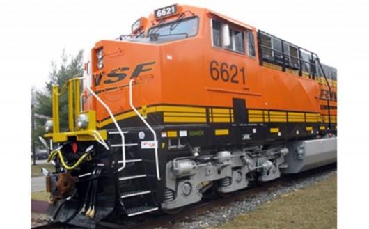 The ES44C4 ecomaginationSM locomotive