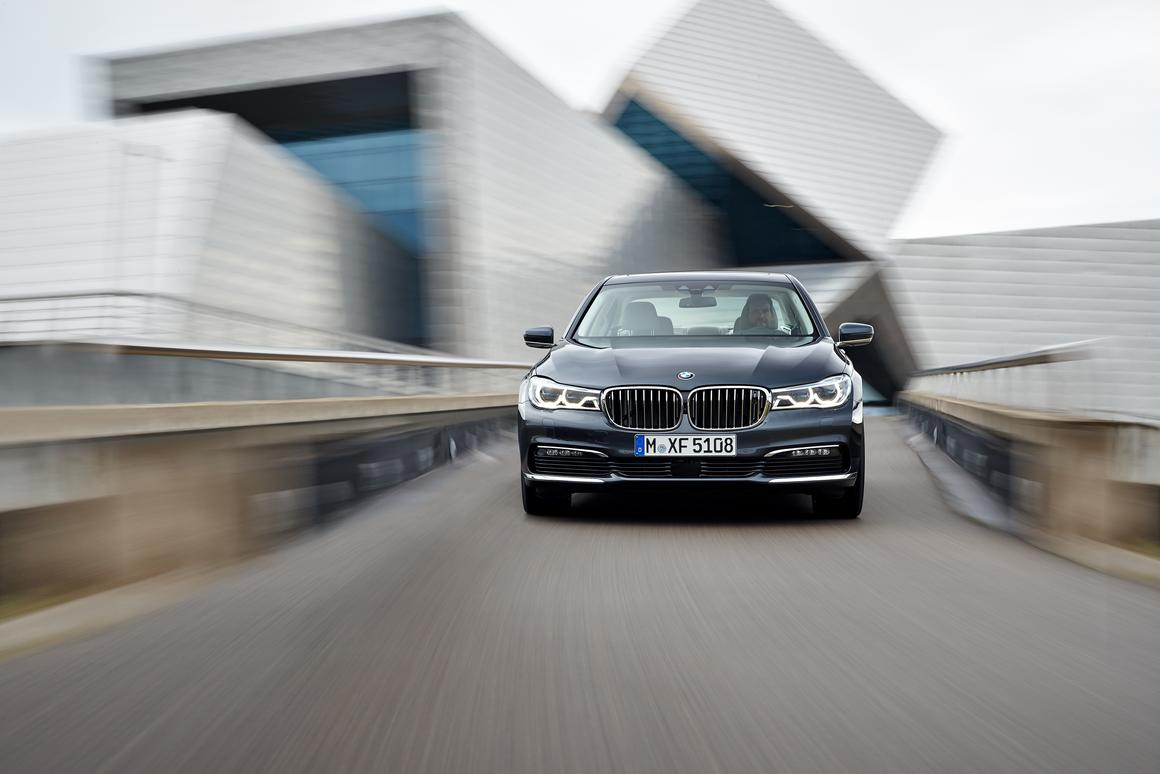 The new 7 Series takes advantage of carbon fiber in its construction for significant weight loss