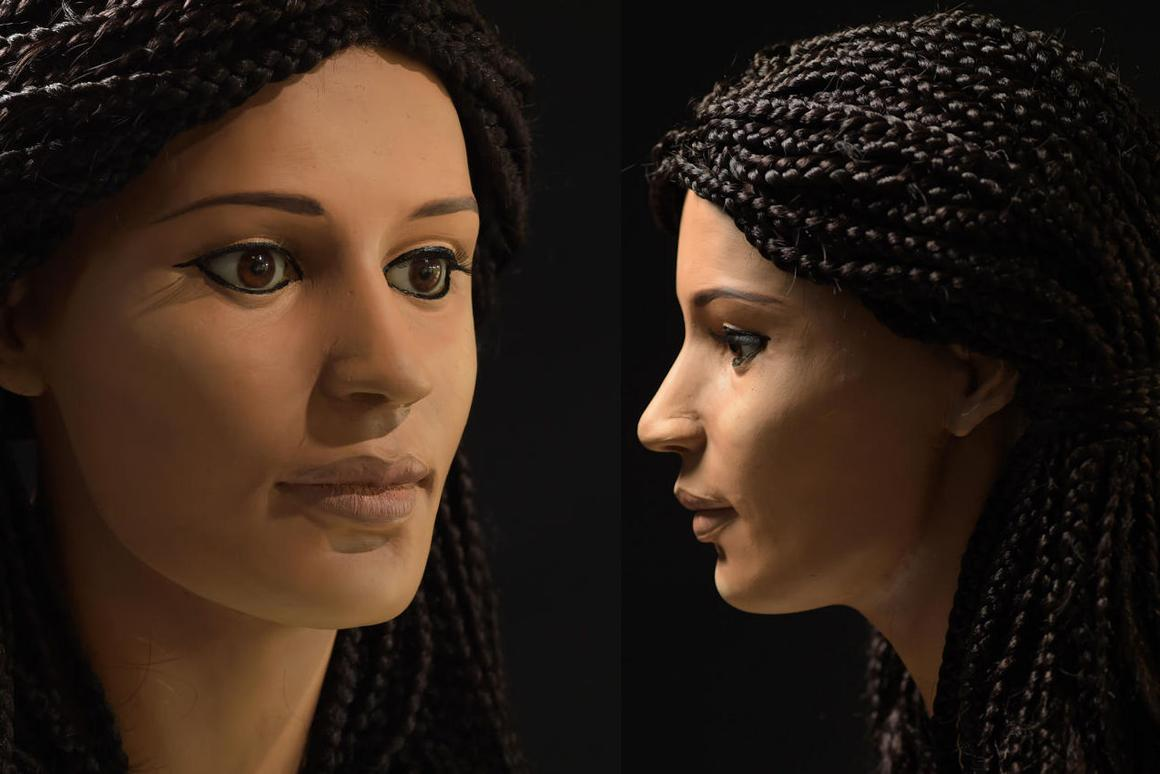 A team at the University of Melbourne has used a mummified head toreconstructthe face of a young Egyptianwoman
