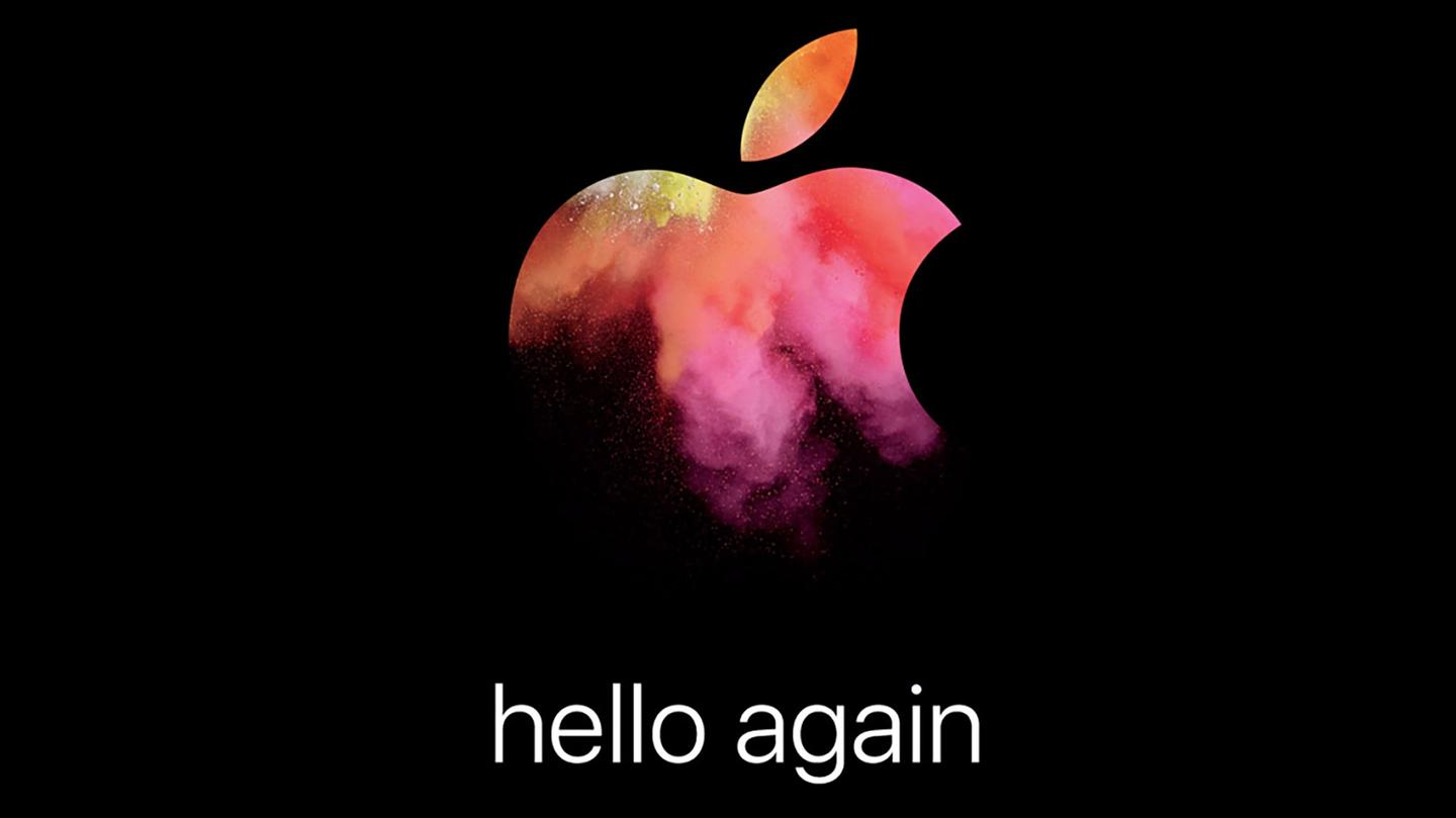 Invite for Apple's October 27 event
