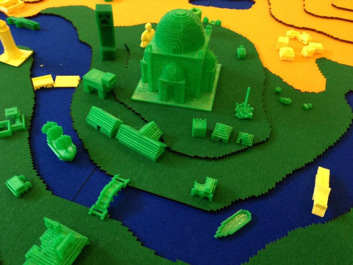 Minecraft's virtual worlds become reality thanks to Printcraft