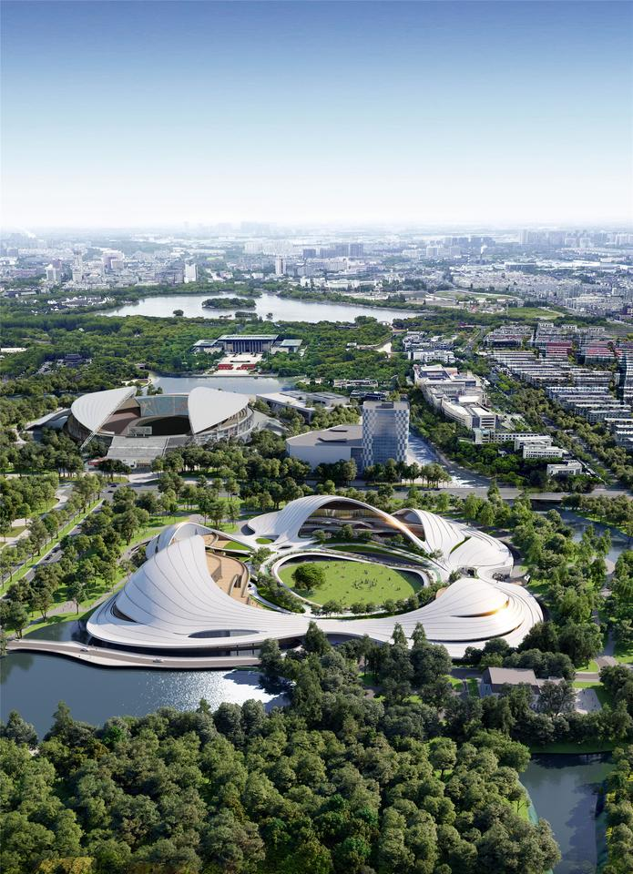 The Jiaxing Civic Center is slated for completion in 2023