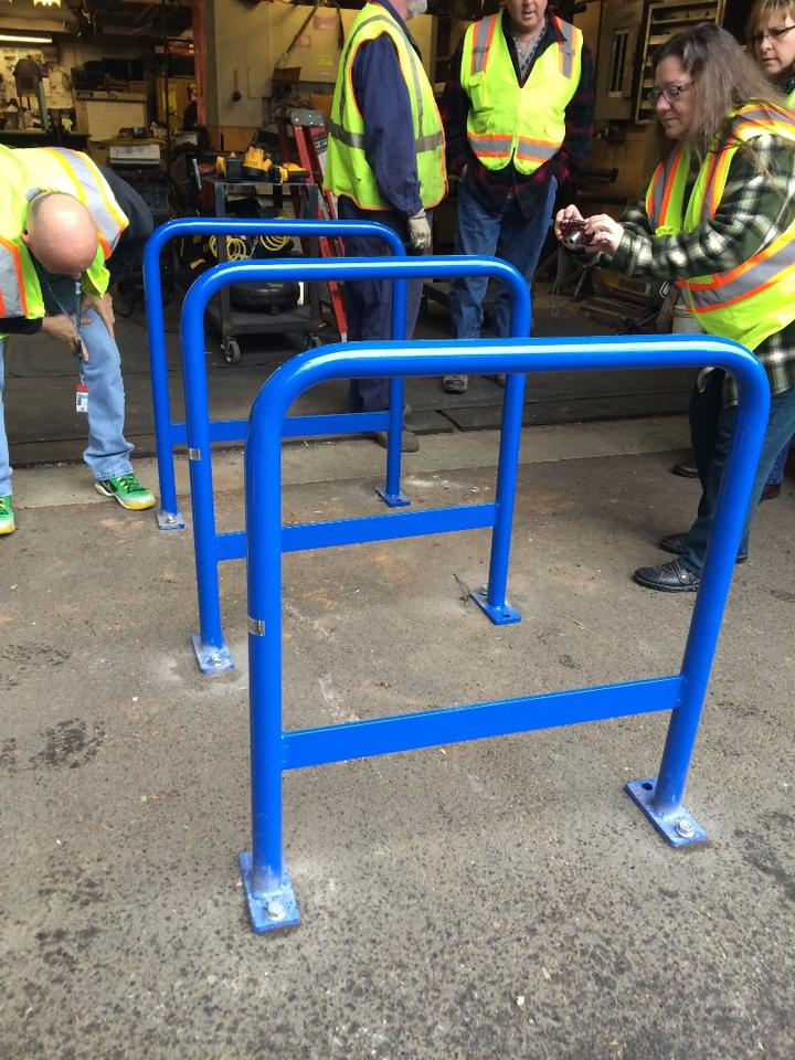 Portlandians can expect to see the new racks start popping up as more municipal bike parking is added, and as existing racks need to be replaced