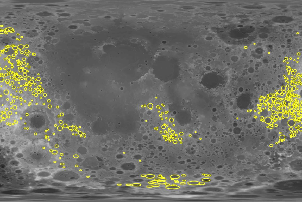 Data from NASA's GRAIL mission provided the researchers with the gravity signatures of around 1,200 craters on the far side of the Moon