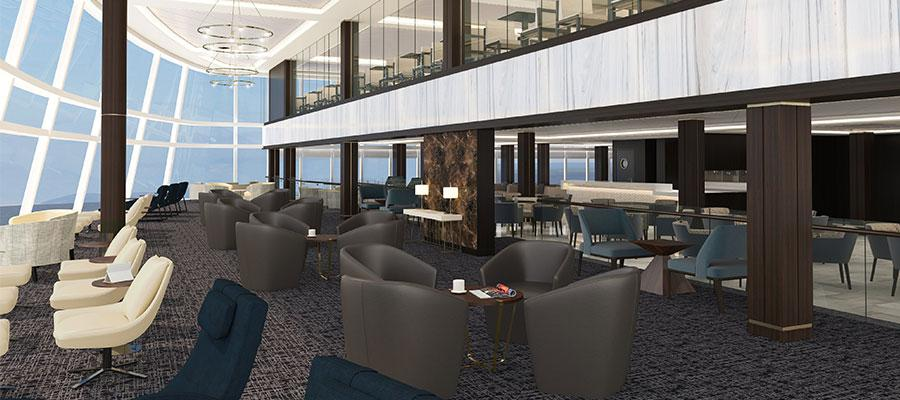 The Concierge Lounge will be for Concierge-level guests