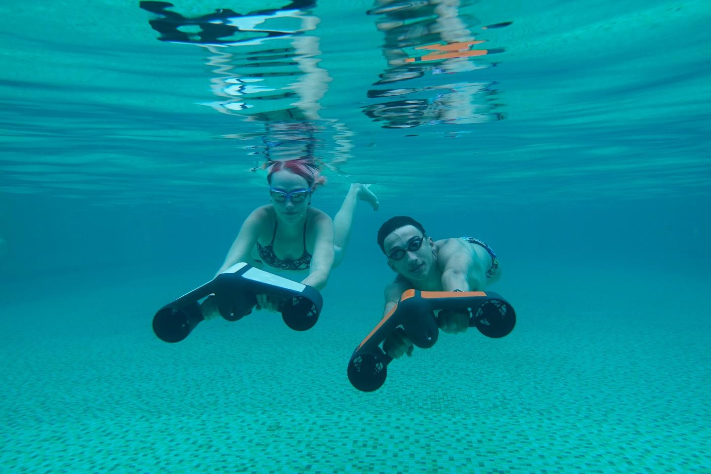 The Trident underwater scooter is headed for Indiegogo later this month