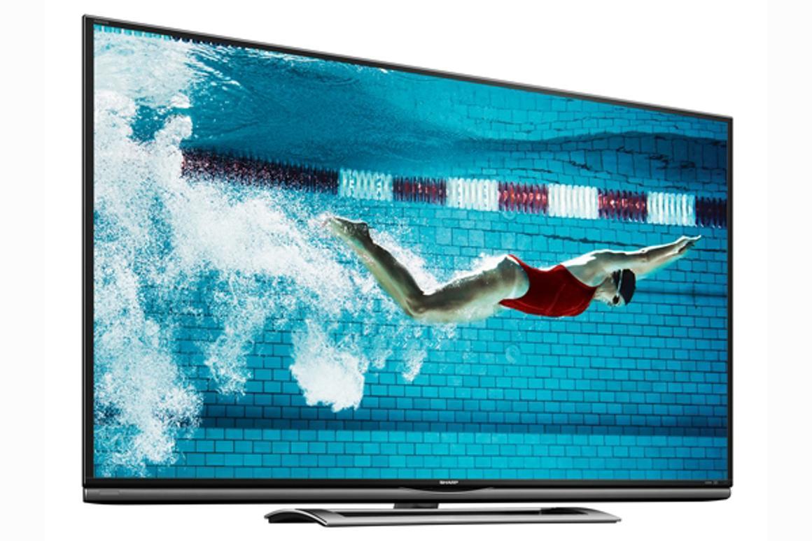 Sharp's 70-inch AQUOS Ultra HD LED TV