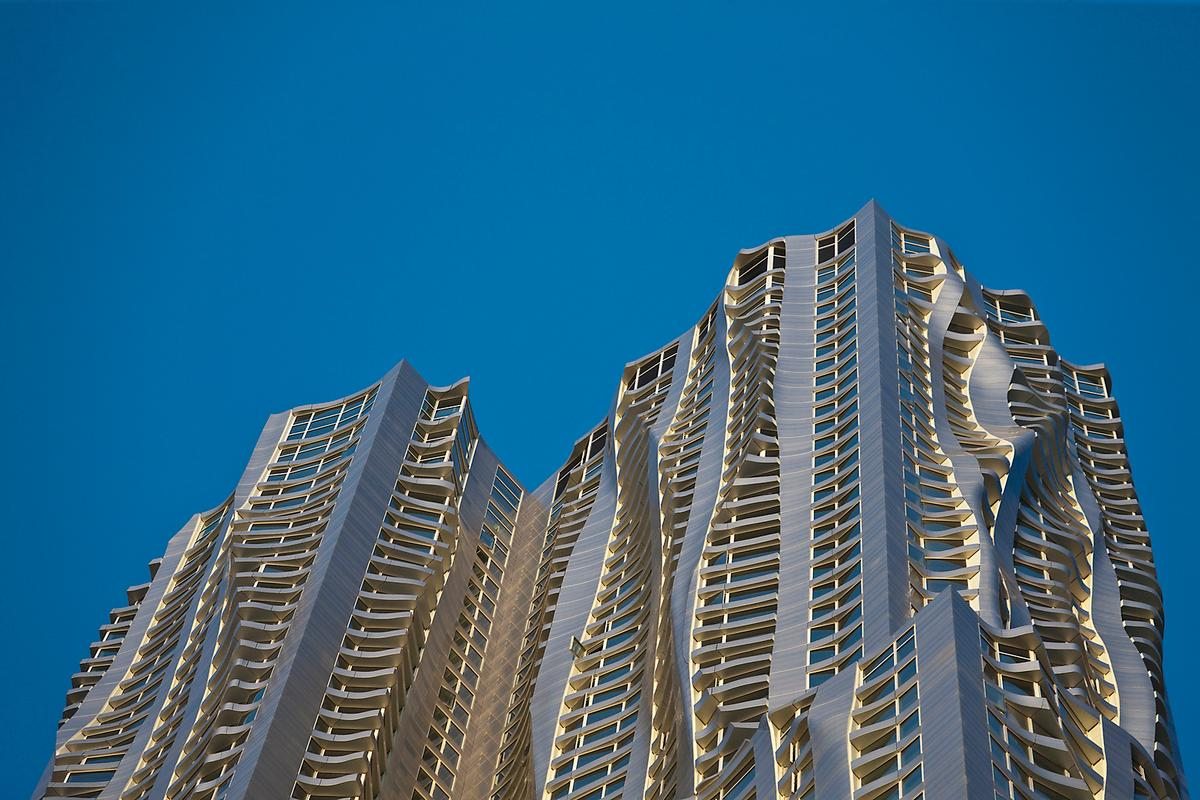 8 Spruce Street was chosen from a list of more than 220 skyscrapers completed in 2011