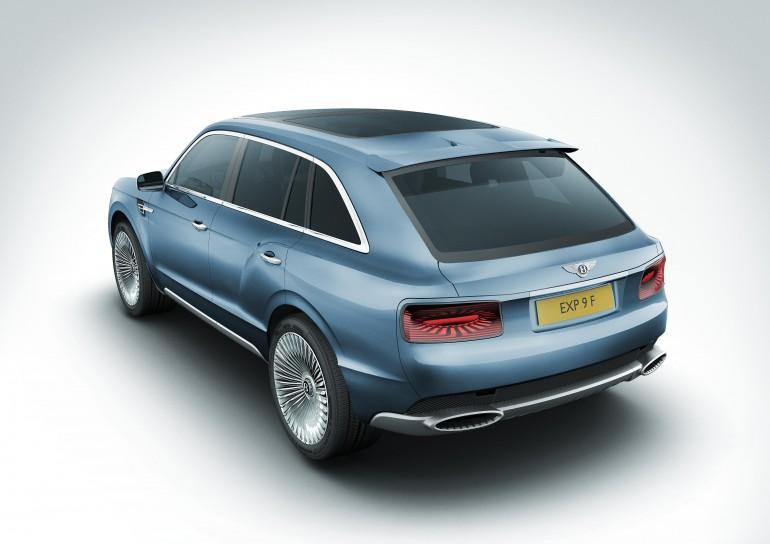 The Bentley EXP 9 F concept