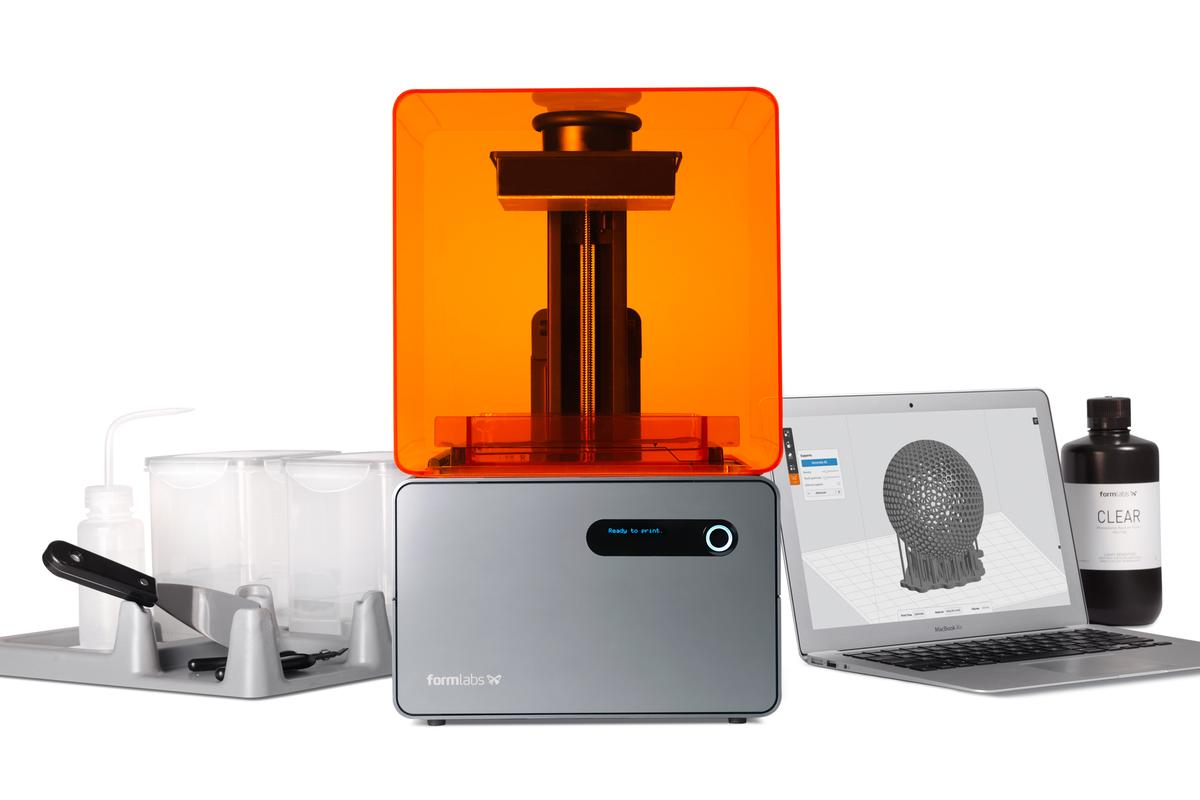 The new Form 1+ 3D printer from Formlabs