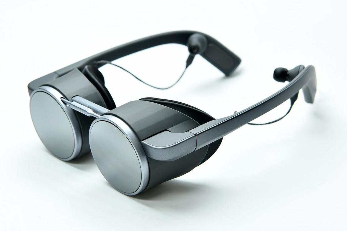 Panasonic has demonstrated a set of lightweight, UHD VR goggles, that actually look pretty neat