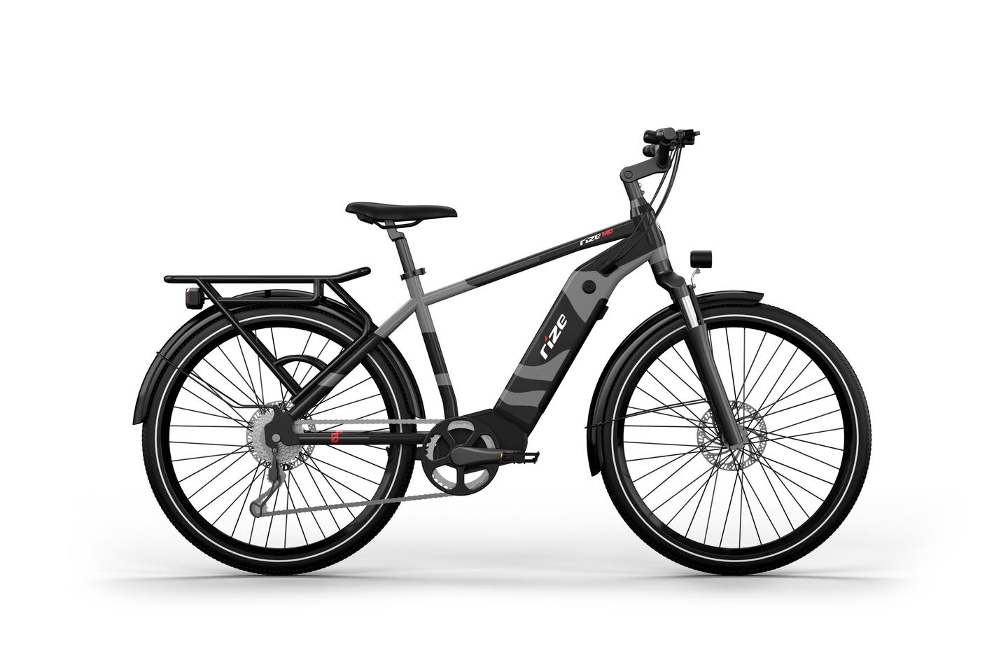 Designed for the road or trail, the Rize MD features a 750W (peak) Bafang motor and optionally can be fitted with two batteries for a charging potential of over 120 miles