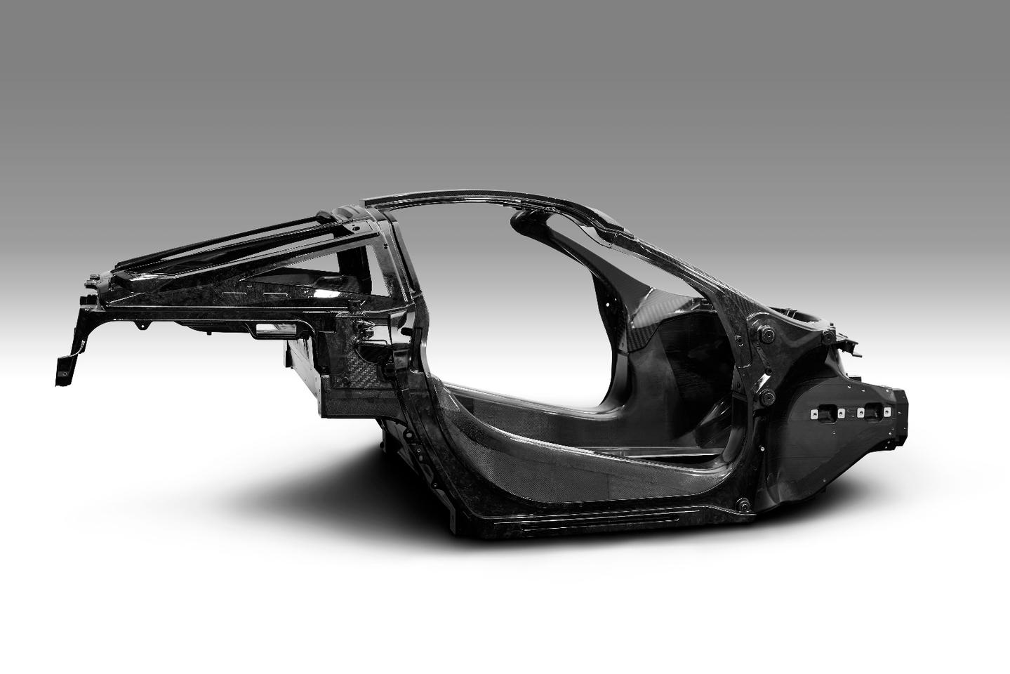 The new carbon tub for the McLaren Super Series