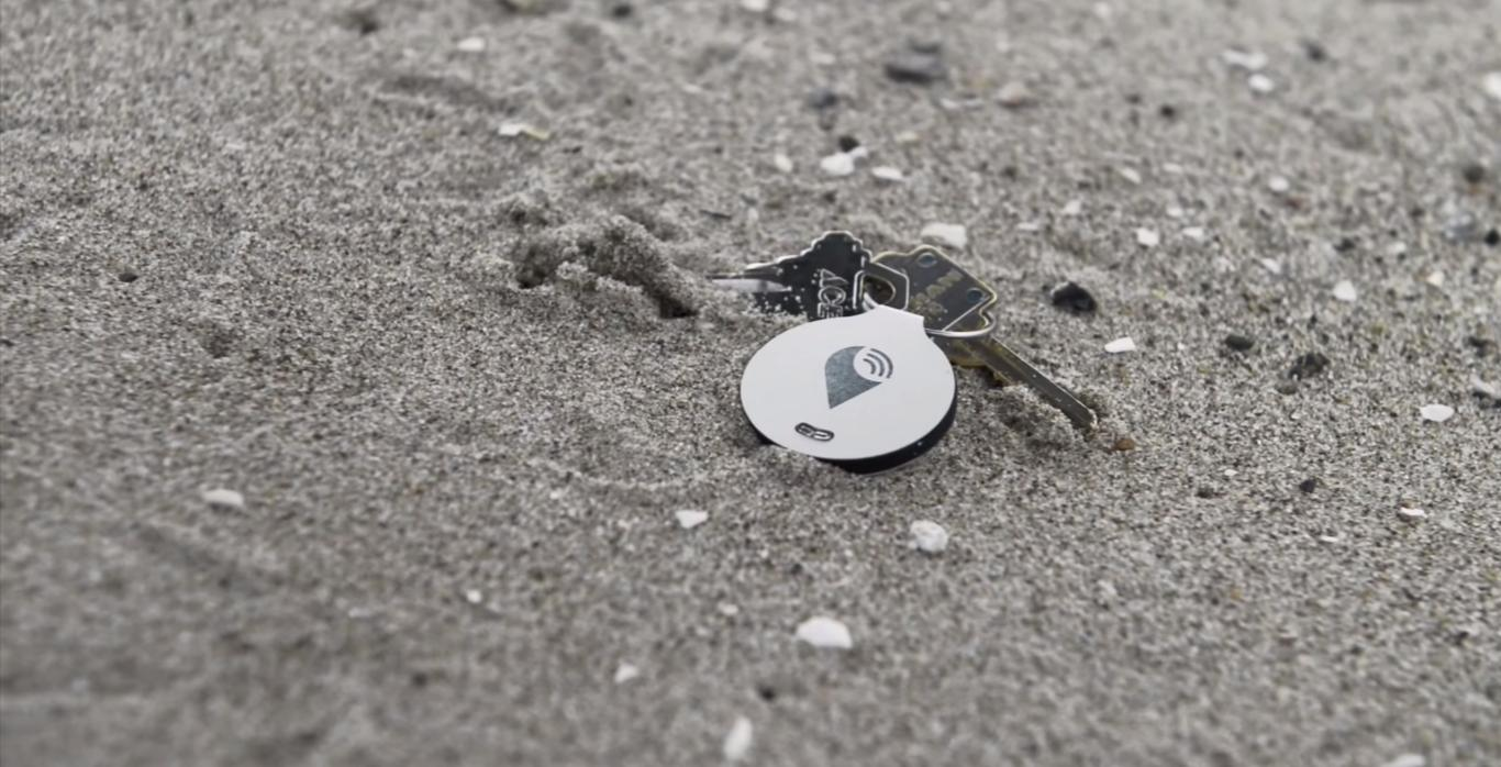 The TrackR bravo is a two-way item-tracking device