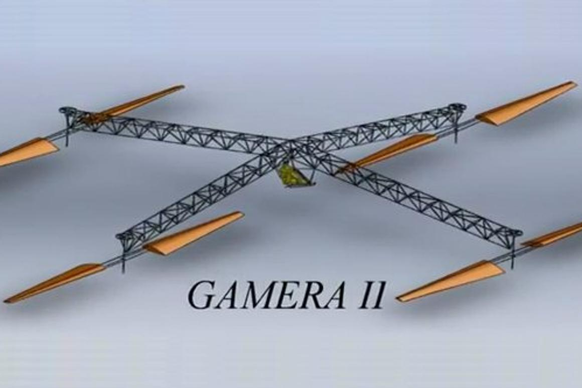 The Gamera human-powered helicopter team at the University of Maryland's Clark School of Engineering has announced the first test flights of a redesigned craft which is hoped will smash existing records and claim the elusive Sikorsky Prize.
