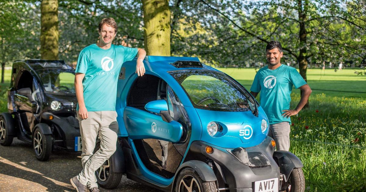 After just 20 hours of training, Wayve's fast-learning AI car is already driving itself on unfamiliar roads
