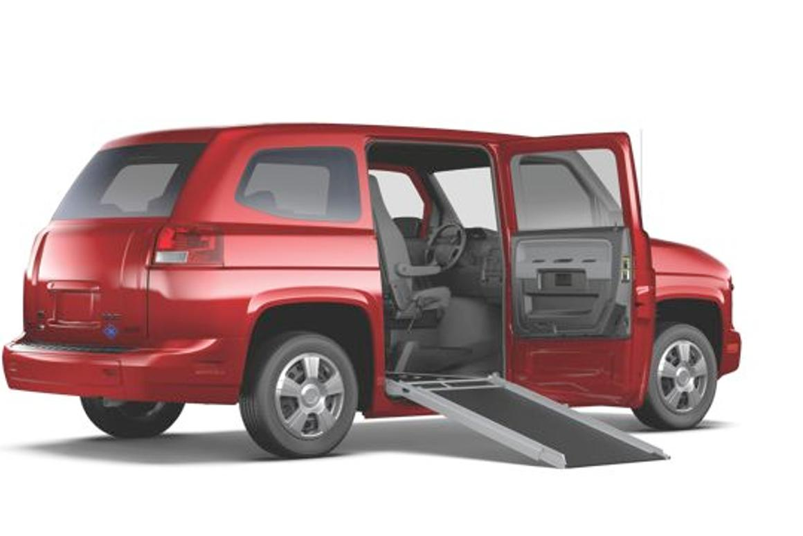 Who Makes Mv1 >> Mv 1 Van Is Designed Specifically For Wheelchair Users