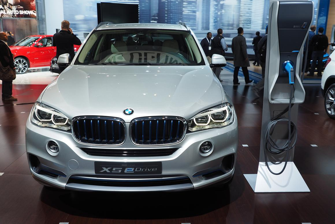 Concept X5 eDrive at the 2014 New York International Auto Show (Photo: Angus MacKenzie/Gizmag)
