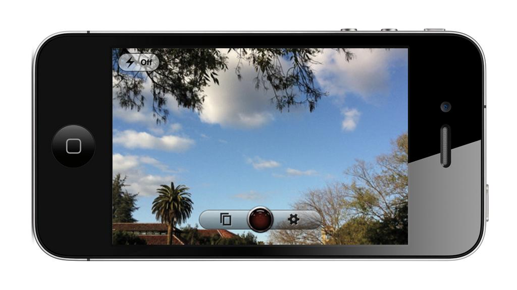 SteadyCam Pro provides real-time image stabilization for videos captured with an iPhone 4