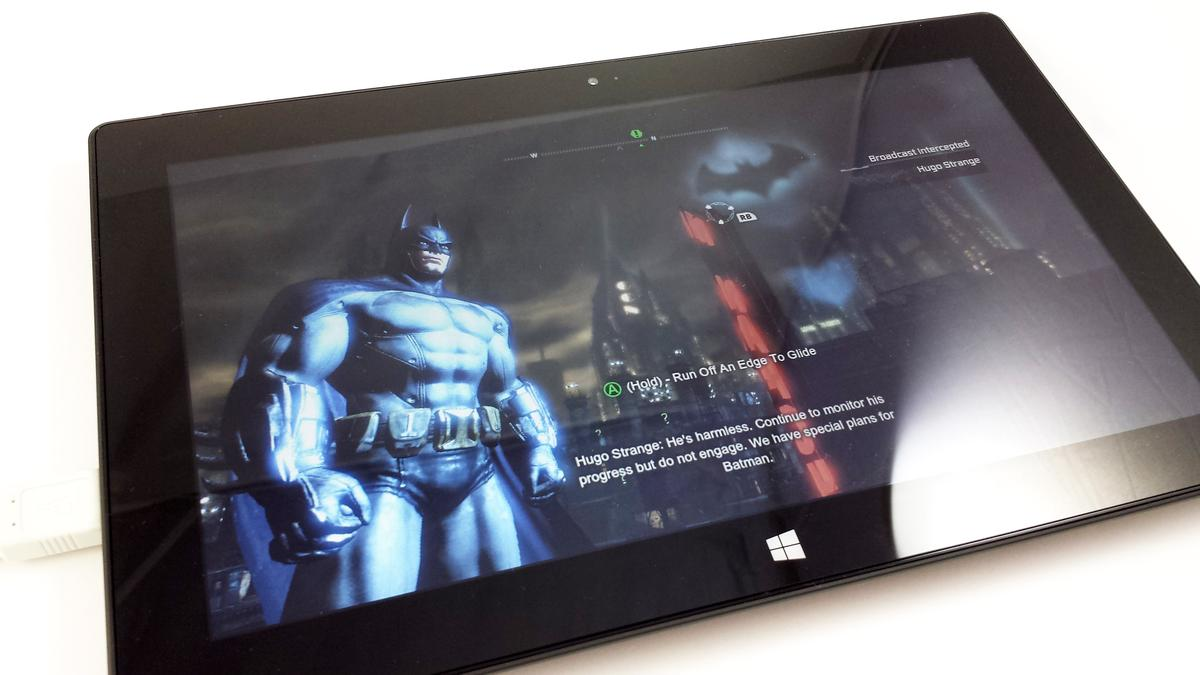 Batman: Arkham City played extremely well ... once I turned down the resolution and detail settings