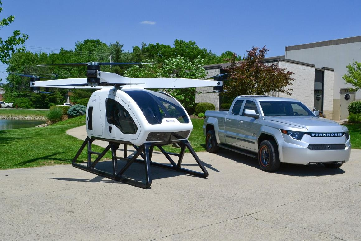 TheWorkhorse Surefly will havea range of 70 miles and a top speed of 70 mph