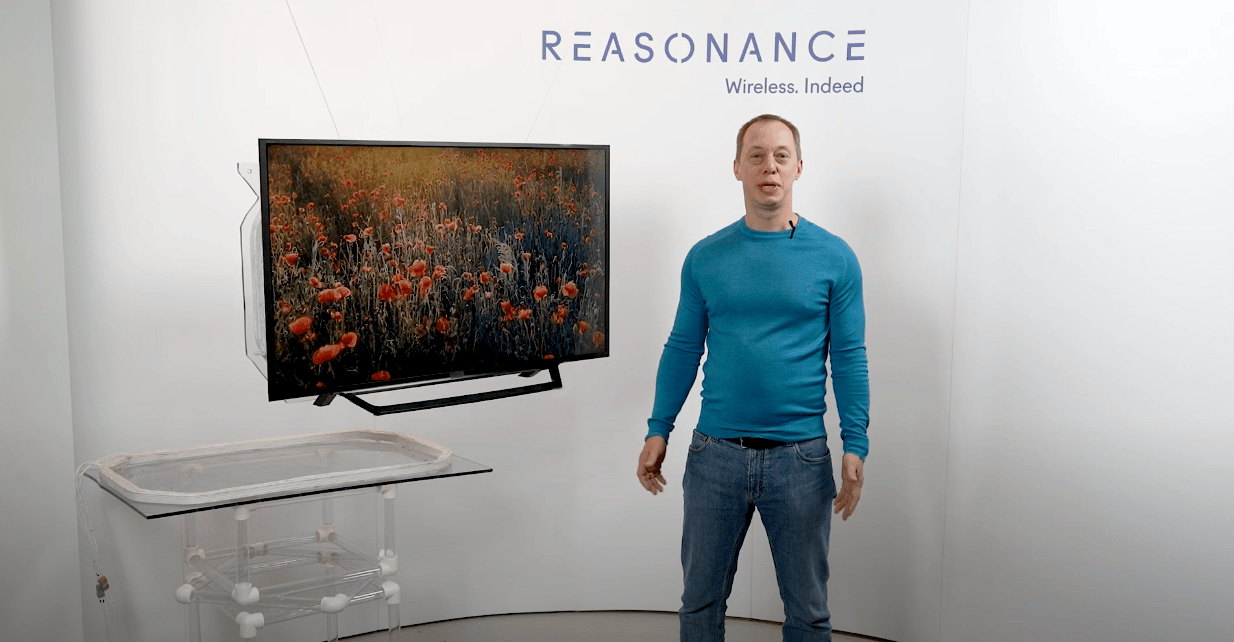 Reasonance believes it has the ticket to TVs that don't need to plug directly into the wall