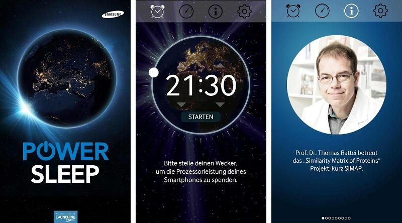 Power Sleep is a new Android app that uses the processing power of mobile phones for research while users are asleep
