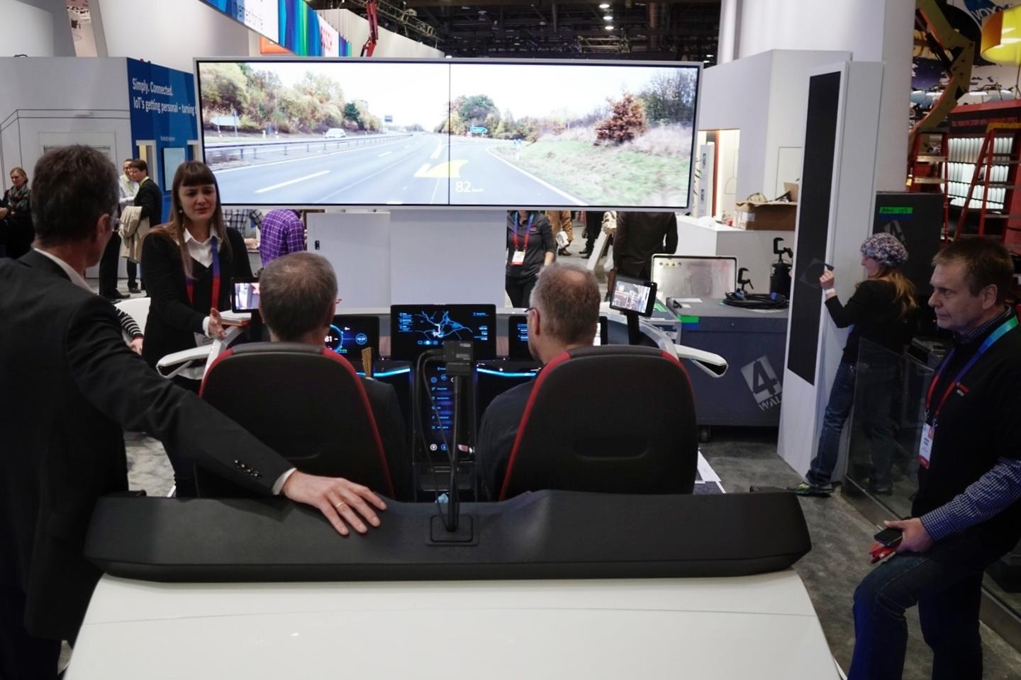 Bosch focuses attention on interior car tech at CES2017