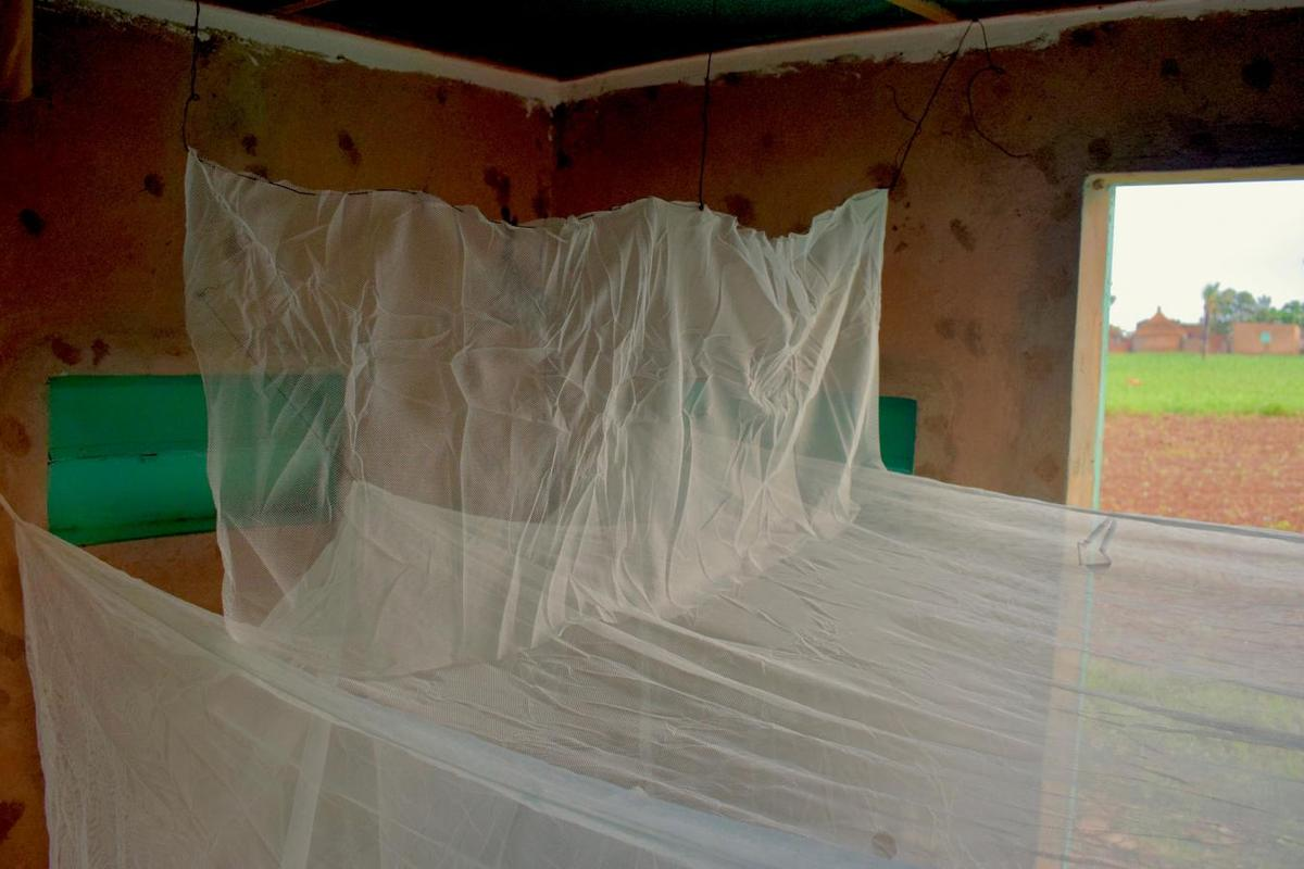 The Barrier Bednet has been successfully field-tested in Burkina Faso