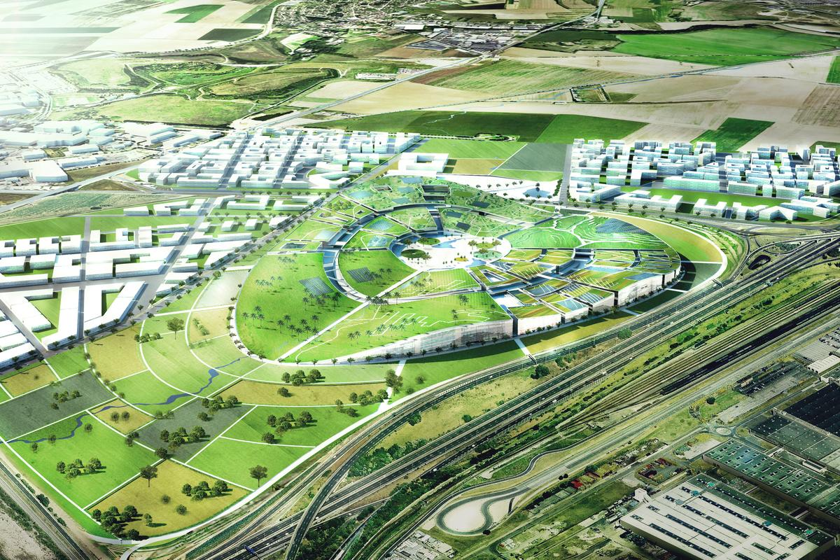 BIG's EuropaCity grand plan (Image: BIG)