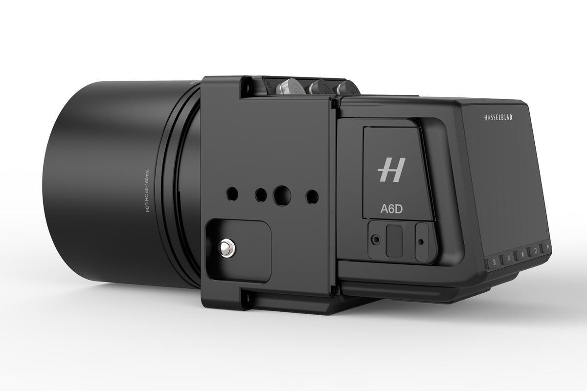 The Hasselblad A6D 100c is a 100-megapixel medium-formataerial camera