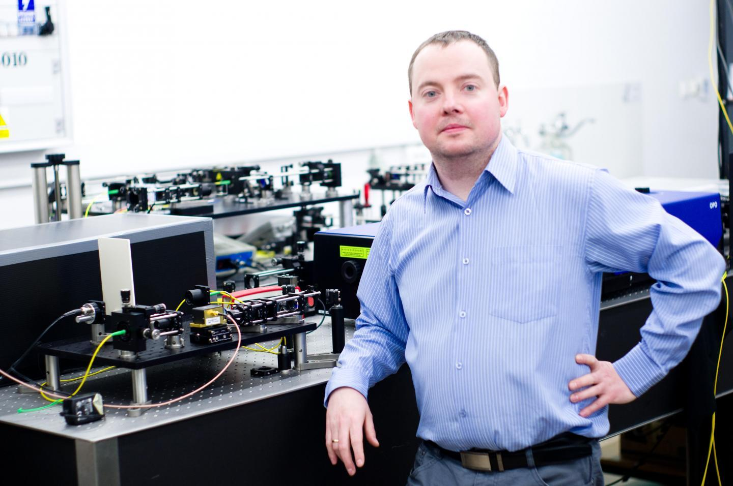 The research was led by Ireneusz Grulkowski of Poland's Nicolaus Copernicus University (pictured), along with Pablo Artal from Spain's Universidad de Murcia