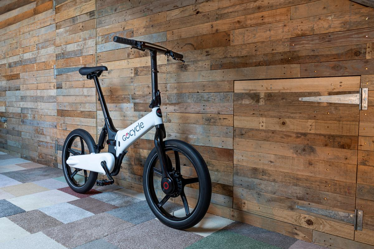 Gocycle's G4 ebikes feature a partially carbon fiber frame and a more powerful motor