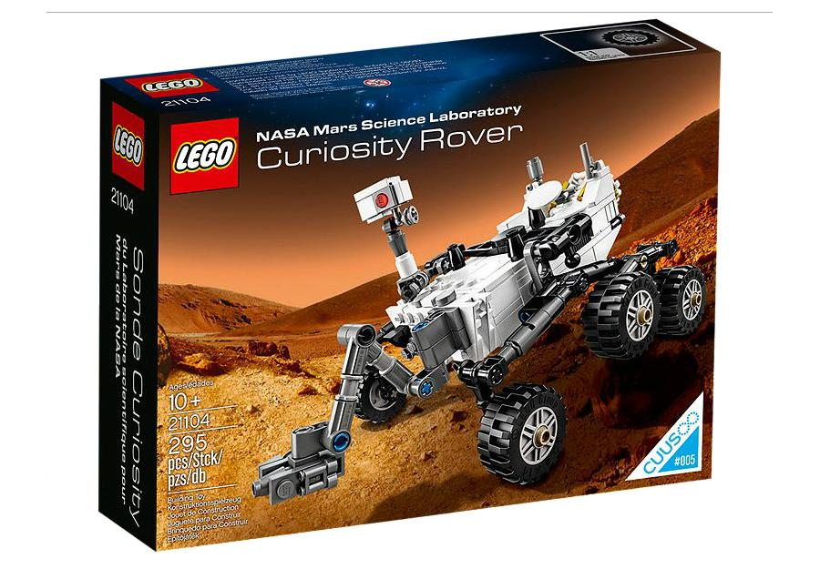 The 295 piece Lego Curiosity kit retails for $29.95 through the company's website