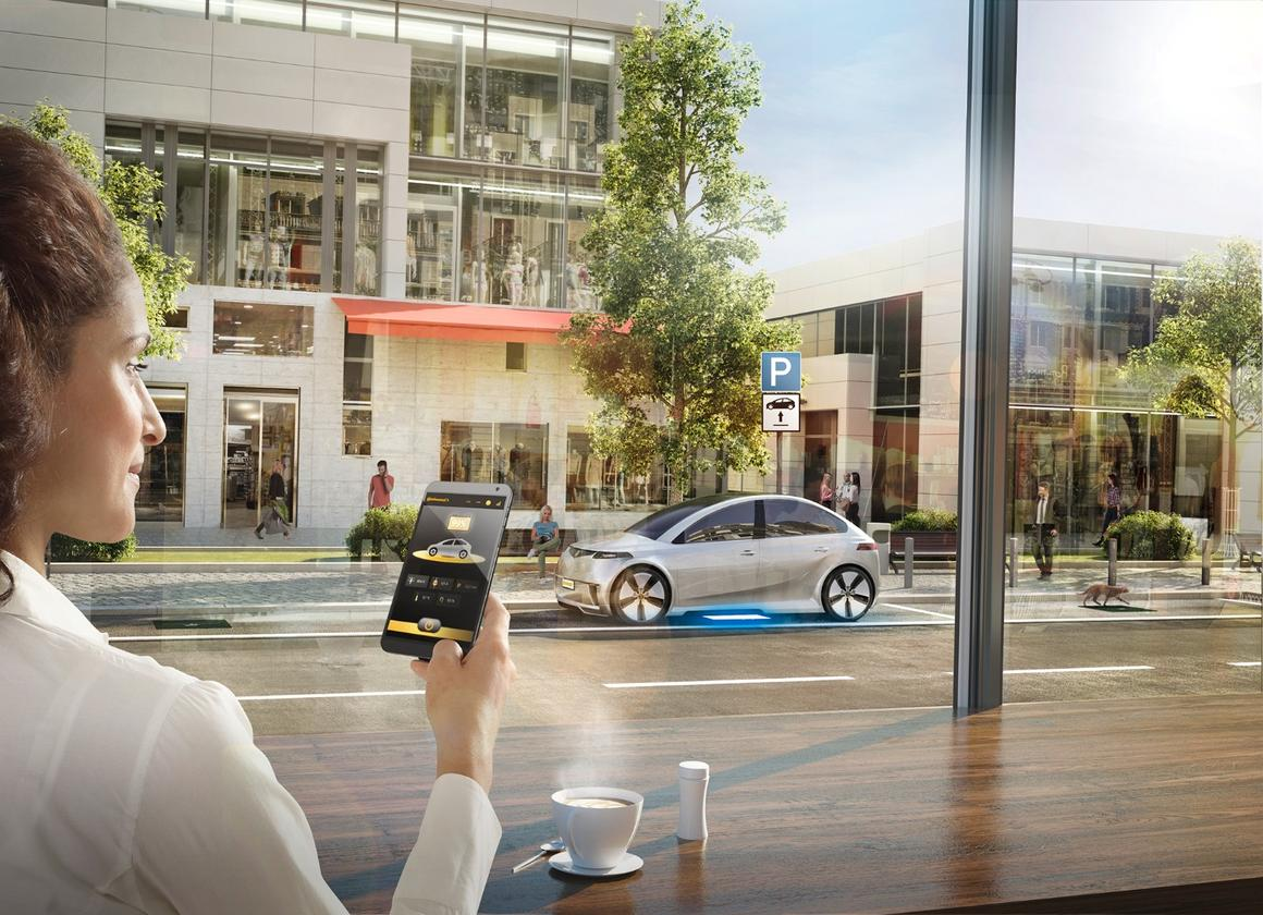 Continentalwill be showing off an early version of its inductive charging system at CES in Las Vegas next month