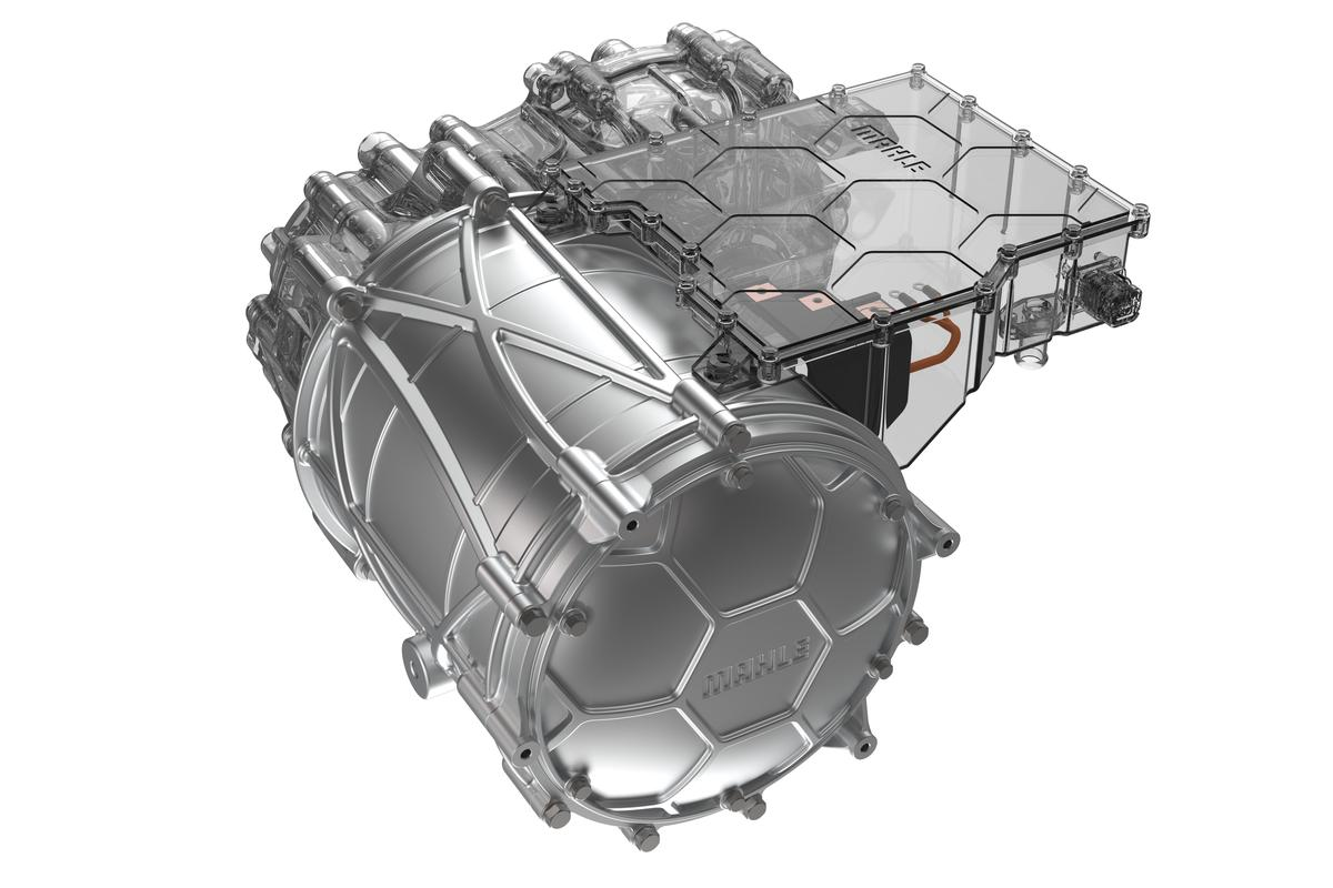 Mahle's highly efficient new electric motor ditches rare earth metals altogether, instead using contactless induction to feed power to coils in the rotor