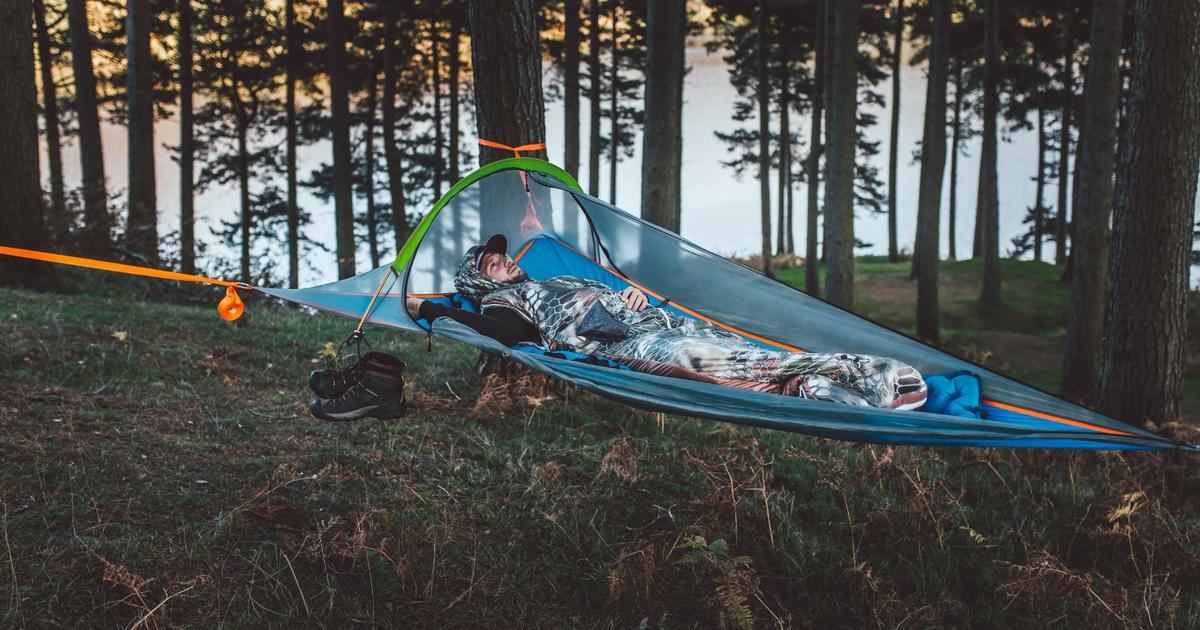 Tentsile goes solo with new UNA tree tent