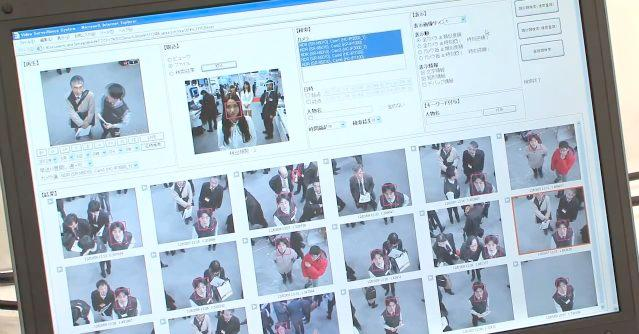 A new video surveillance system is able to search through data on 36 million faces per second, looking for a match for a specific individual (Image: DigInfo)