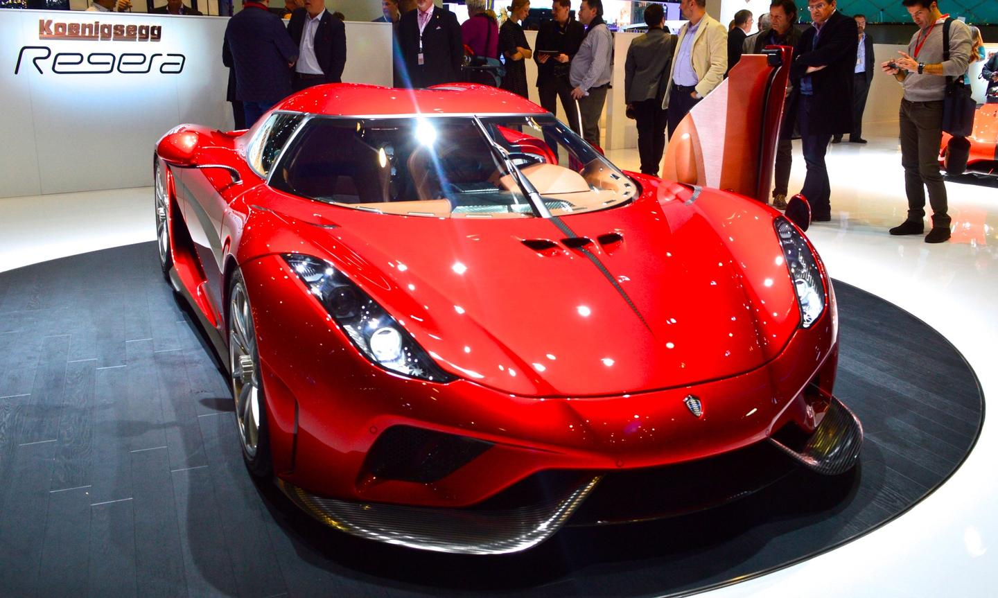 Koenigsegg debuts the production Regera at the 2016 Geneva Motor Show