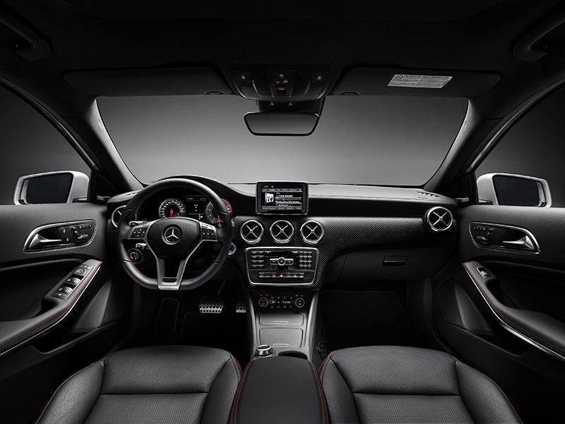 The new Mercedes-Benz A-Class interior