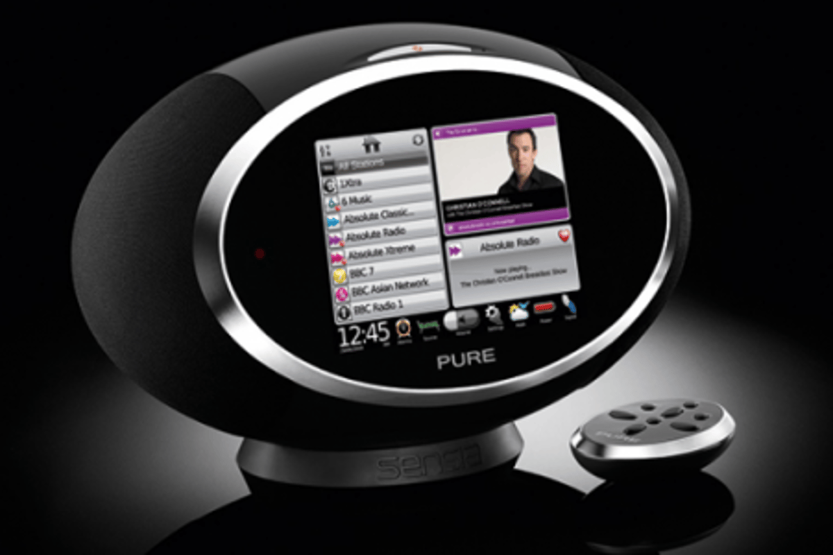 The Pure Sensia touchscreen radio - a Swiss army knife of a device