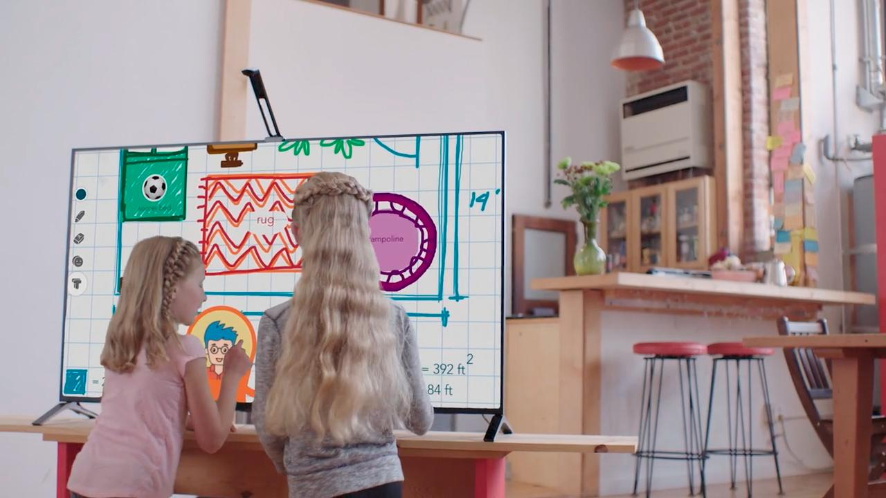 The Touchjet Wave can provide interactivity for people of all ages