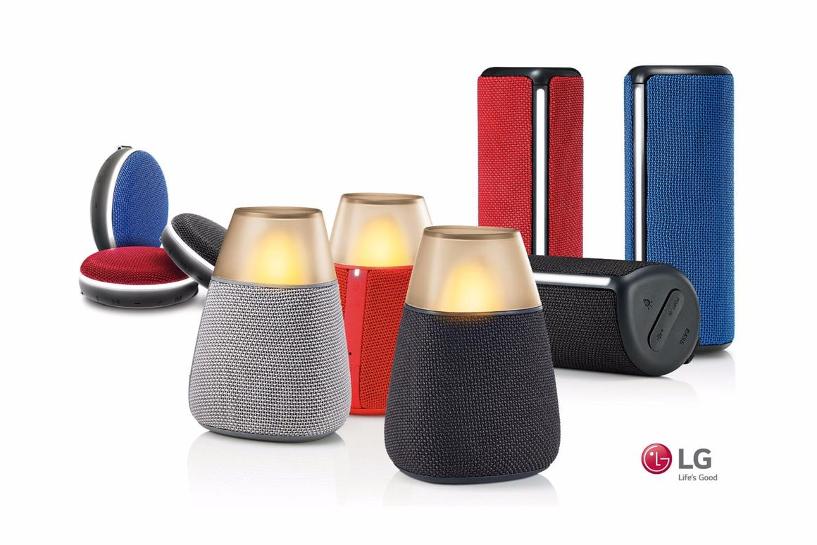 LGis trying to set itself apart from the pack with thenew PH2,PH3 and PH4 Bluetooth speakers