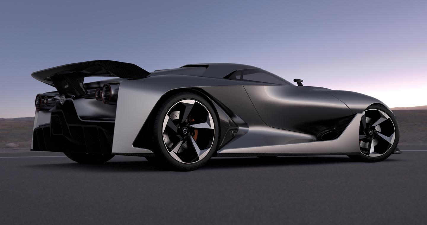 The Concept 2020 Vision Gran Turismo was designed by Nissan Design Europe