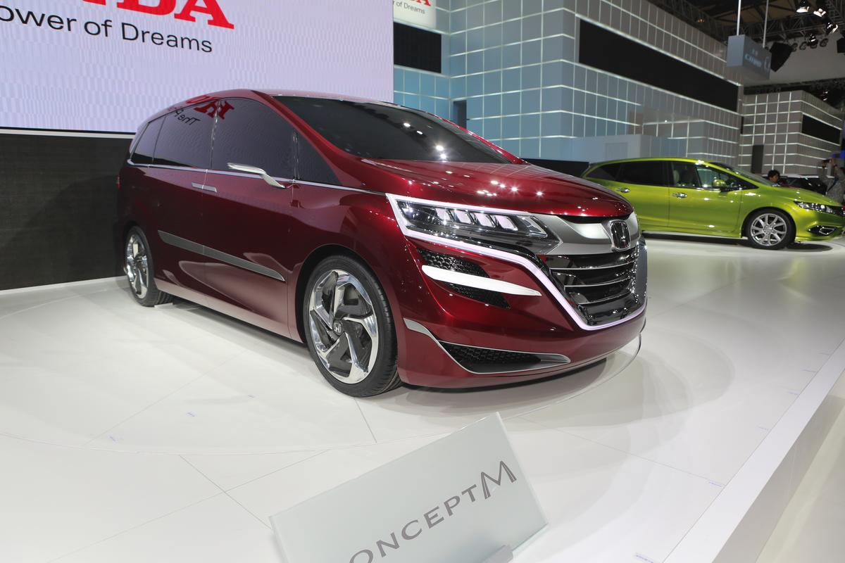 The Honda Concept M on display at Auto Shanghai 2013