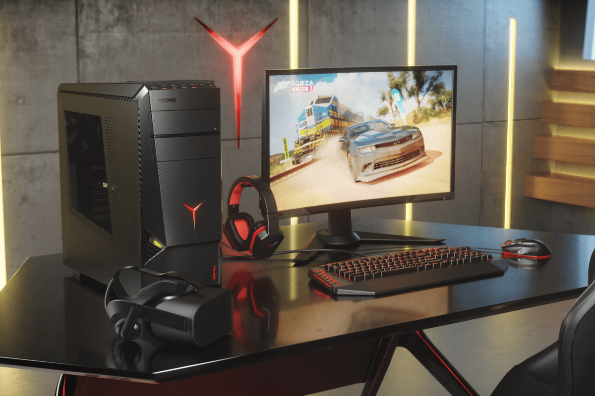 At Gamescom this week,Lenovo has announced three new gaming desktop PCs and a gaming monitor for its Legion line