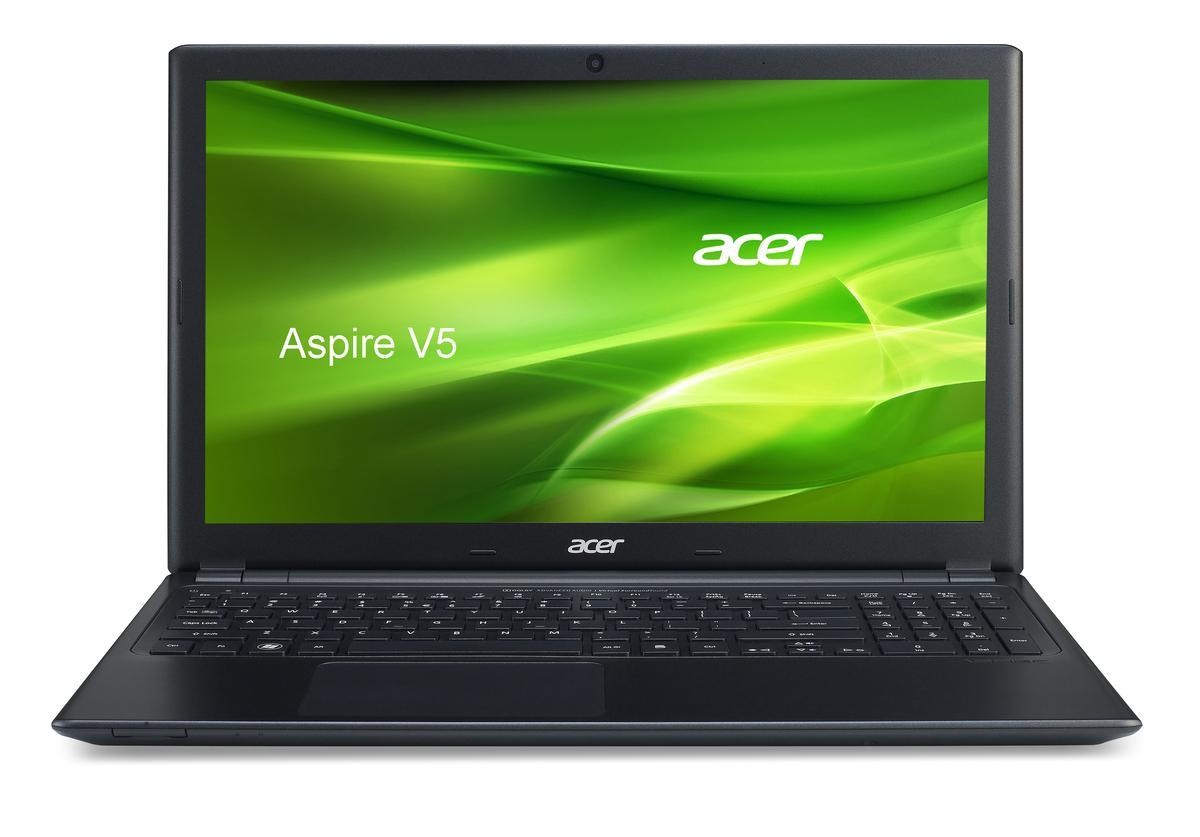 The new Aspire V5 in black