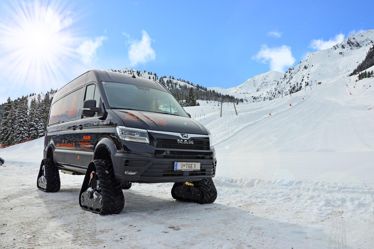 A different style of TGE adventure van